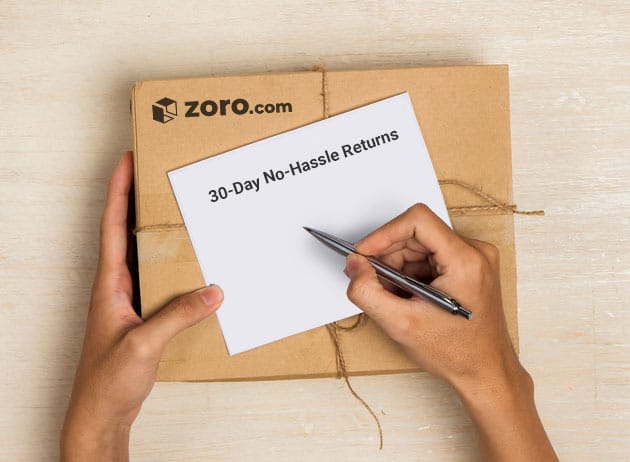 Zoro Free Shipping and Return Policy Information