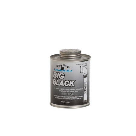Black Swan Mfg. Co. Big Black, Pipe Joint Compound - pint 02026