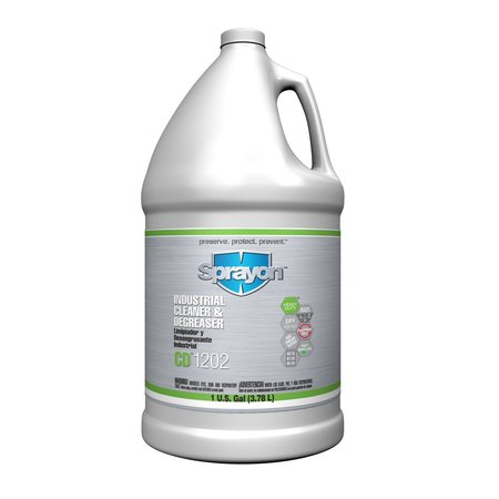 Sprayon Liquid 1 gal. Industrial Cleaner and Degreaser,  Jug S012020401