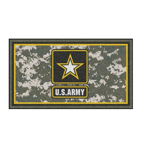 Fanmats U.S. Army 3ft. x 5ft. Plush Area Rug 26891