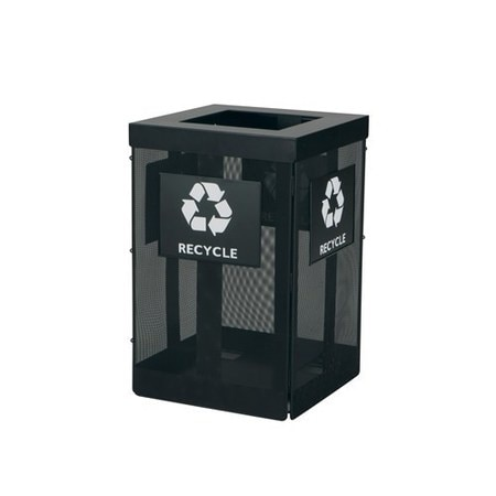 Safco Onyx Waste Receptacle 9936BL