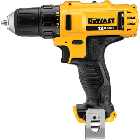 Dewalt 3/8 in,  12V DC Cordless Drill,  Battery Included DCD710S2