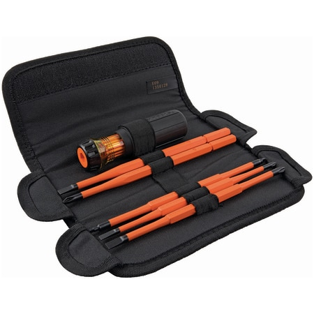 Klein Tools 8-in-1 Insulated Interchangeable Screwdriver Set 32288