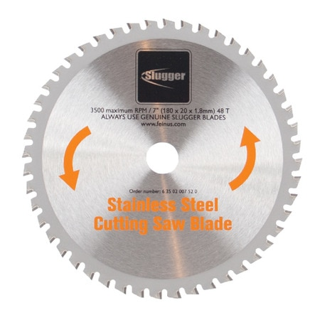 """Fein Blade 7"""" Saw Stainless Steel 63502007520"""