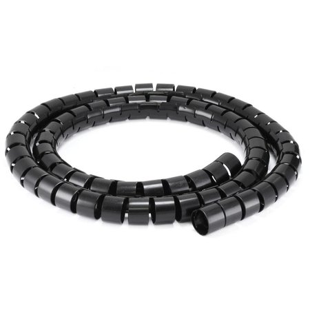 Monoprice Spiral Wrapping Bands 30mmx1.5M Black 7028
