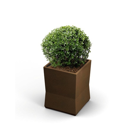 Commercial Zone Products Small ModTec Planter, Bronze 724265