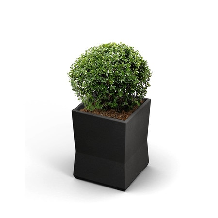 Commercial Zone Products Small ModTec Planter, Gunmetal Stain 724266