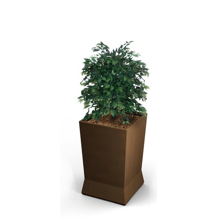 Commercial Zone Products Large ModTec Planter, Bronze 724465