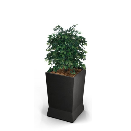 Commercial Zone Products Large ModTec Planter, Gunmetal Stain 724466