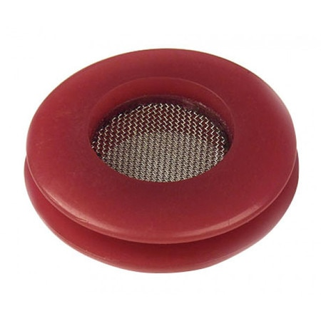 Grote Seal Poly, Filter Screen- Red, PK8 81-0113-08R