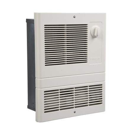 Broan Electric Wall Heater,  1000 W,  120/240VAC,  White 9810WH