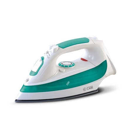 Commercial Care Steam Iron, Auto Shut-off, Full Size, Stainless Steel soleplate CCSI400
