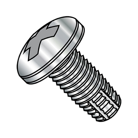 Zoro Select Cutting Screws,  10-32X3/8 PHIL PAN FT TCS F 18-8 STAINLESS STEEL 1106FPP188