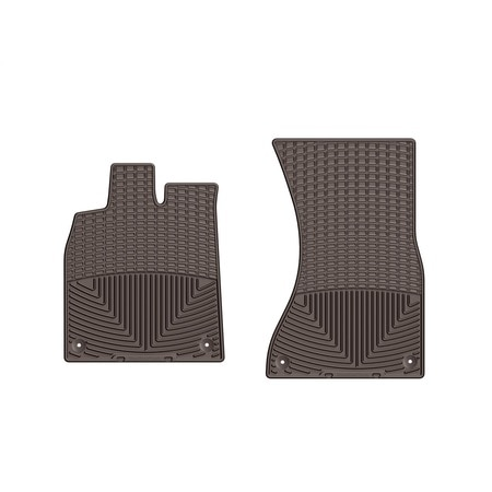 Weathertech Front Rubber Mats/Cocoa, W300CO W300CO