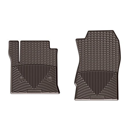 Weathertech Front Rubber Mats/Cocoa, W424CO W424CO