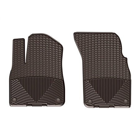 Weathertech Front Rubber Mats/Cocoa, W376CO W376CO