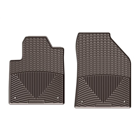 Weathertech Front Rubber Mats/Cocoa, W383CO W383CO