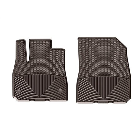 Weathertech Front Rubber Mats/Cocoa, W394CO W394CO