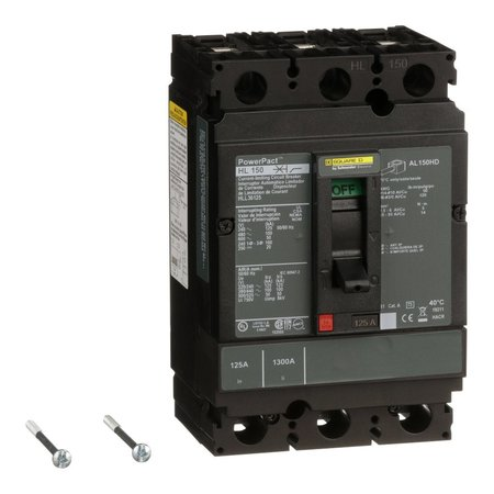 Square D Circuit breaker, PowerPact H, thermal ma HLL36125