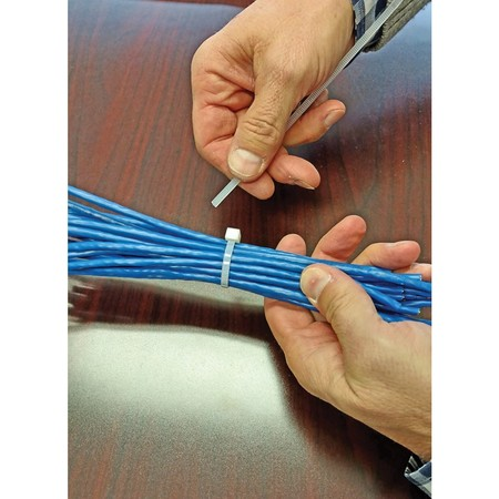 """Garvin Self Cutting Cable Tie 14"""" Natural CT46-314SC"""