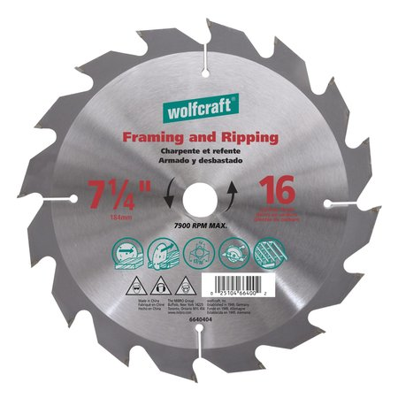 Richelieu Hardware 12-inch (305 mm) Carbide Tooth Circular Table and Miter Saw Blade 6637404