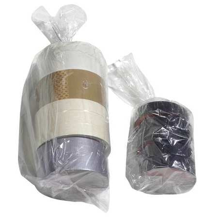 """Zoro Select 24"""" x 15"""" Open Poly Bags,  1.50 mil,  Clear,  PK 500 5DTG4"""