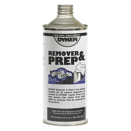 Dykem Layout Fluid Remover and Prep, 930ml 82638