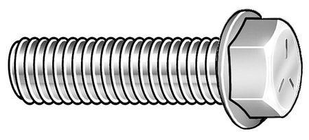 5//16-18x1-1//2 Grade 5 Serrated Hex Flange Screws Flange Bolts 8
