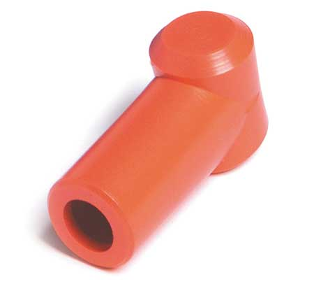 Quickcable Terminal Protector, Plug-In, PVC, Red, PK5 5736-360-005R