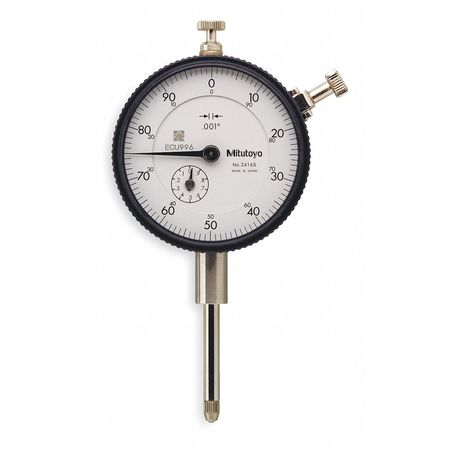 MITUTOYO 2416S Dial Indicator,0 to 1 In,0-100
