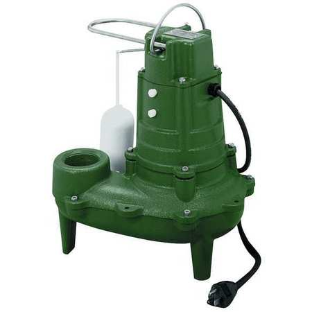 """Waste-Mate 1/2 HP 2"""" Auto Submersible Sewage Pump 115V Vertical"""