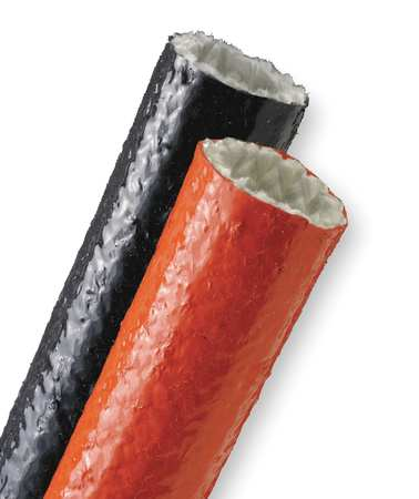 Techflex Sleeving, 1.000 In., 50 ft. L, Red FIN1.00RD50