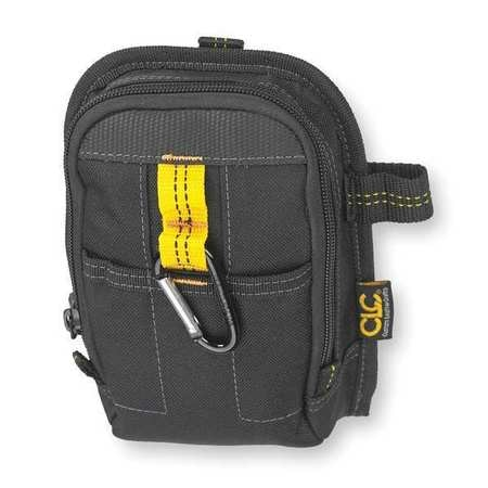 Clc Carry-All Pouch,  Polyester Fabric,  9 Pockets,  Black,  7 1/2 in Height 1504