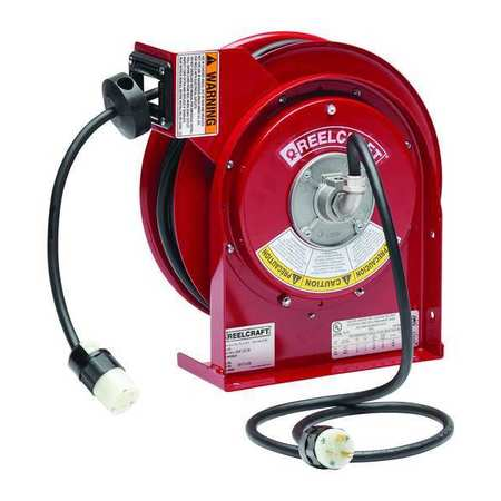 Reelcraft 45 ft. 12/3 Extension Cord Reel 20.0 A Amps 1 Outlets 120V AC Voltage L 4545 123 3A