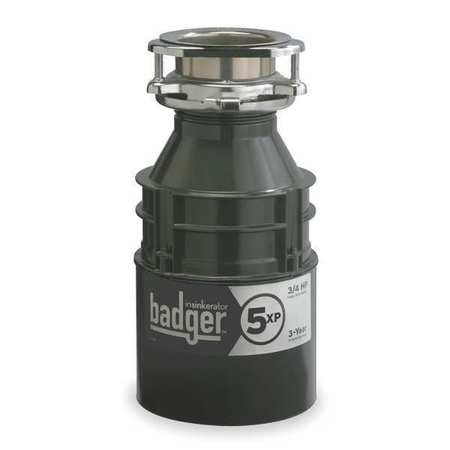 Garbage Disposal, Badger 5, 3/4 HP
