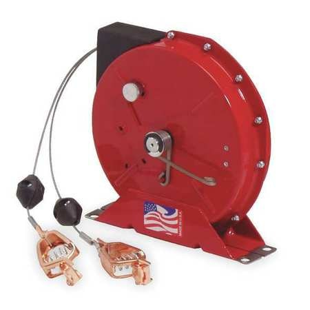 Reelcraft Cable Reel, Spring, 50 ft, Red, HD G 3050 Y