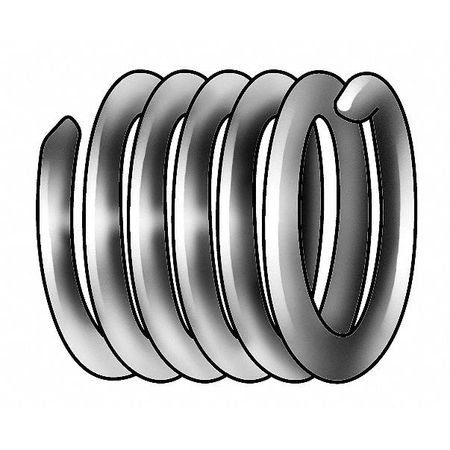 Heli-Coil Helical Insert, 304SS, 4-40, PK100 A1185-04CNW280