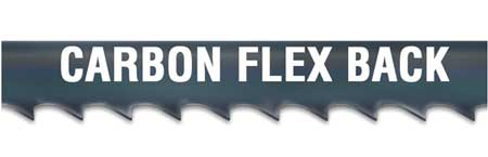 """Morse Band Saw Blade,  12 ft. 6 in L,  1/2"""" W,  4 TPI,  0.025"""" Thick,  Carbon Steel ZHEDH04ETS -12'6"""