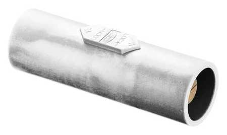 Hubbell Double Connector, 600VAC/250VDC, White HBLDMW