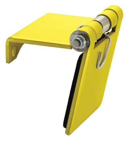 Hubbell Single Pole Connector, Snap Cover, Yellow HBLSCCY