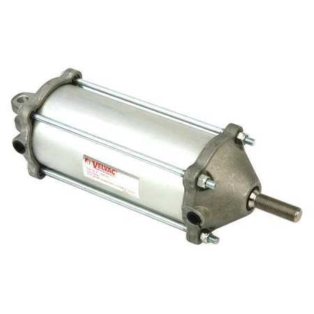 Velvac Air Cylinder,  3 1/2 in Bore,  8 17/25 in Stroke,  Double Acting 100132