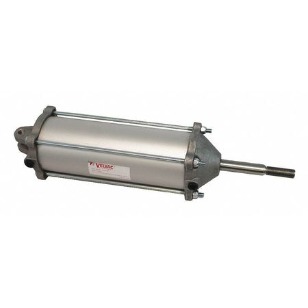 Velvac Air Cylinder,  3 1/2 in Bore,  8 17/25 in Stroke,  Double Acting 100137
