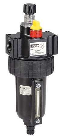 Parker Air Line Lubricator, 3/4In, 90 cfm, 250 psi 17L44BE