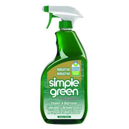 Simple Green Liquid 24 oz. Cleaner and Degreaser,  Trigger Spray Bottle 2710001213012