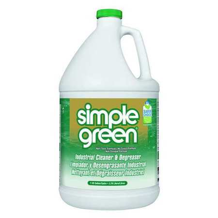 Simple Green Liquid 1 gal. Industrial Cleaner and Degreaser,  Jug 2710200613005