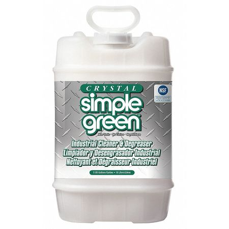 Simple Green Liquid 5 gal. Cleaner and Degreaser,  Pail 0600000119005