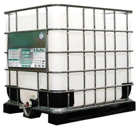 Simple Green Liquid 275 gal. Industrial Cleaner and Degreaser,  Tote 0600000119275