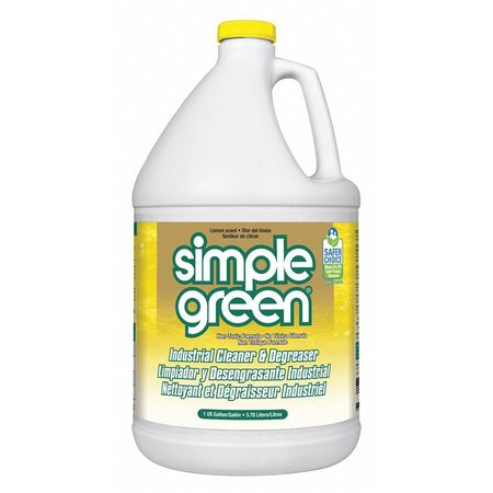 Simple Green Liquid 1 gal. Cleaner and Degreaser,  Jug 3010200614010
