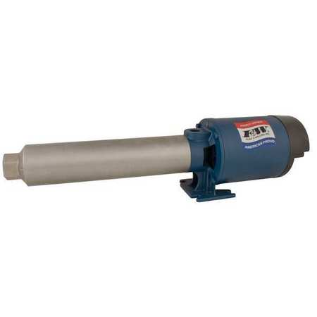 Flint & Walling Multi-Stage Booster Pump,  1 hp,  120/240V AC,  1 Phase,  3/4 in NPT Inlet Size,  14 Stage PB1014A101
