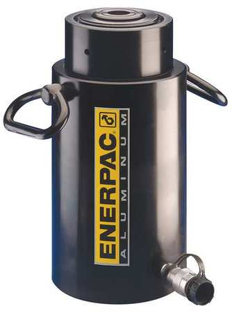 Enerpac RACL302,  34.2 ton Capacity,  1.97 in Stroke,  Aluminum Lock Nut Hydraulic Cylinder RACL302
